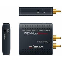 Advance Acoustic WTX-Microstreamer all