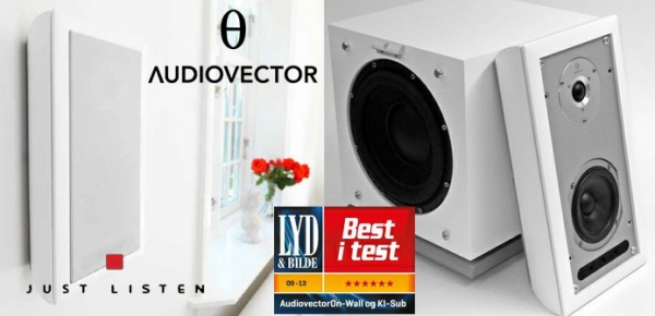 Audiovector On-Wall Super oraz Subwoofer Ki-Sub